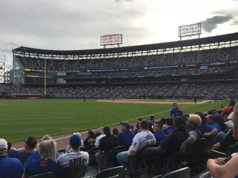 Seating view for Guaranteed Rate Field Section 152 Row 7 Seat 3