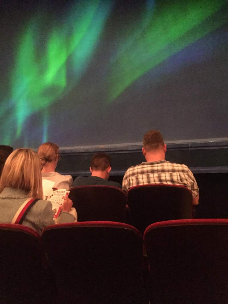 Seating view for St. James Theatre Section Orchestra C Row C Seat 101