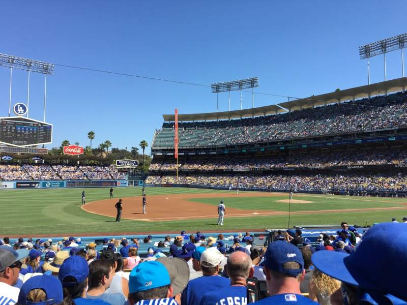 Seating view for Dodger Stadium Section 29FD Row M Seat 2