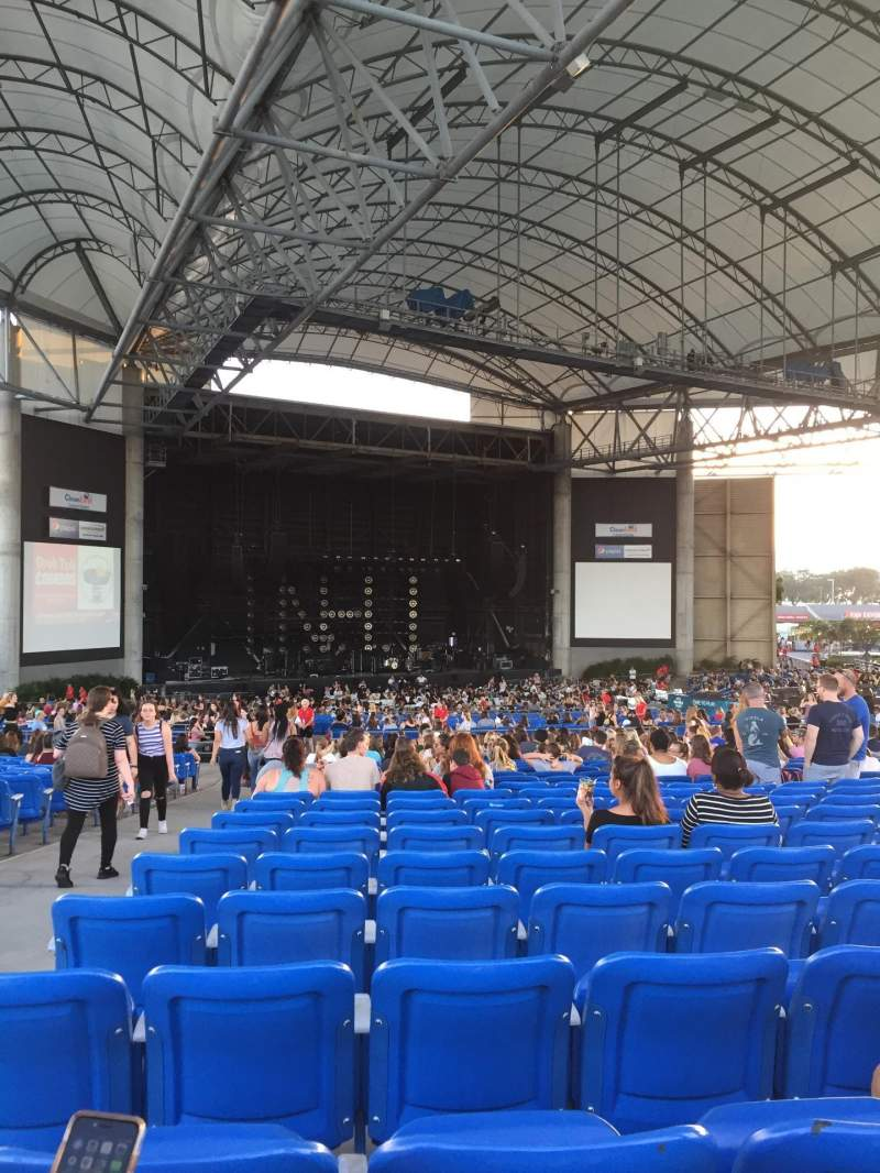 Seating view for MidFlorida Credit Union Amphitheatre Section Upper 13 Row Z Seat 1-4