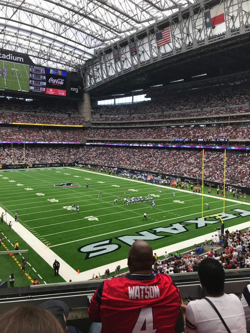 Seating view for NRG Stadium Section 355 Row C Seat 11