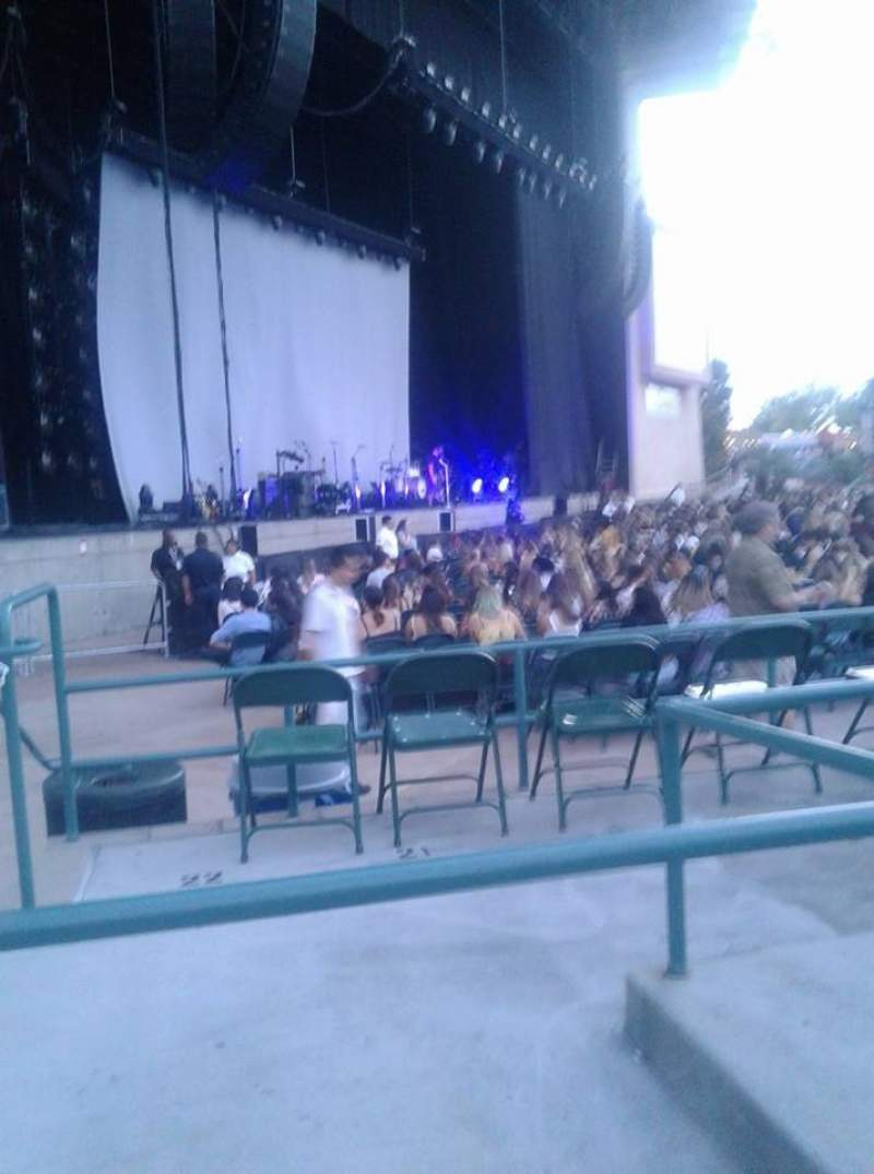 Seating view for North Island Credit Union Amphitheatre Section 103 Row C Seat 39