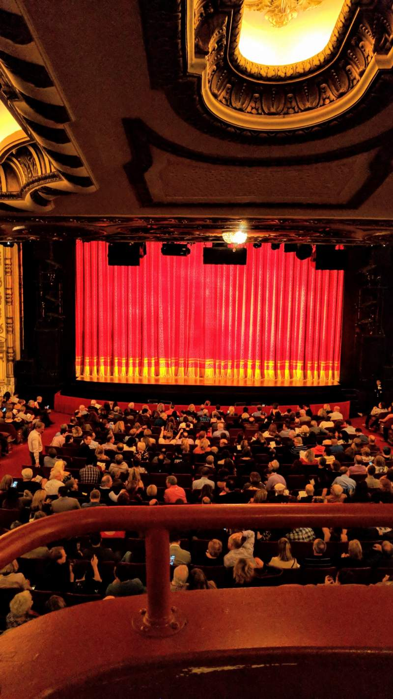 Seating view for Cadillac Palace Theater Section Dress Circle C Row A Seat 214