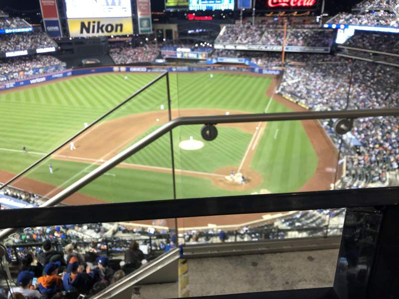 Seating view for Citi Field Section 518 Row 1 Seat 1
