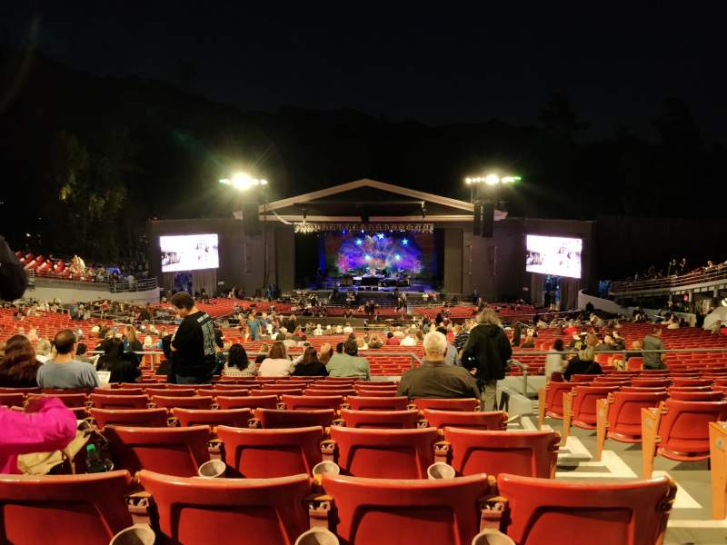 Seating view for The Greek Theatre Section C Row L Seat 134