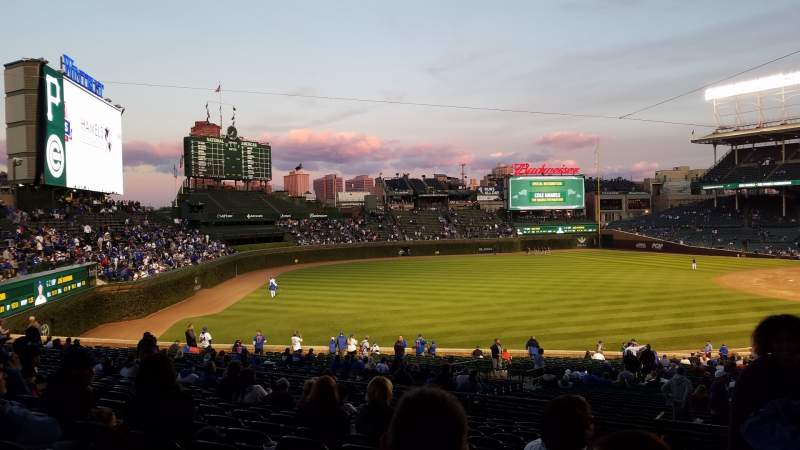 Seating view for Wrigley Field Section 205 Row 15 Seat 1