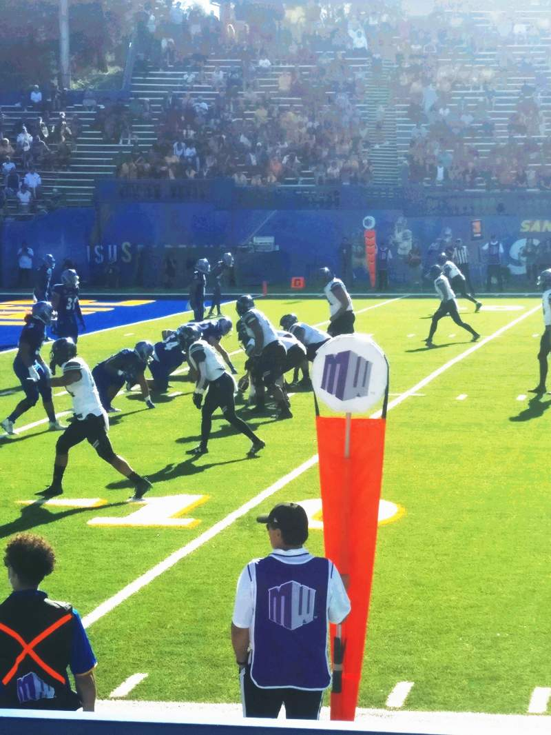 Seating view for CEFCU Stadium Section 133 Row 5 Seat 1