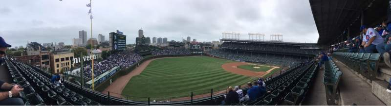 Seating view for Wrigley Field Section 304L Row 5 Seat 19
