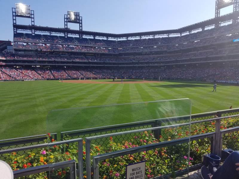 Seating view for Citizens Bank Park Section 146 Row 2 Seat 1-3