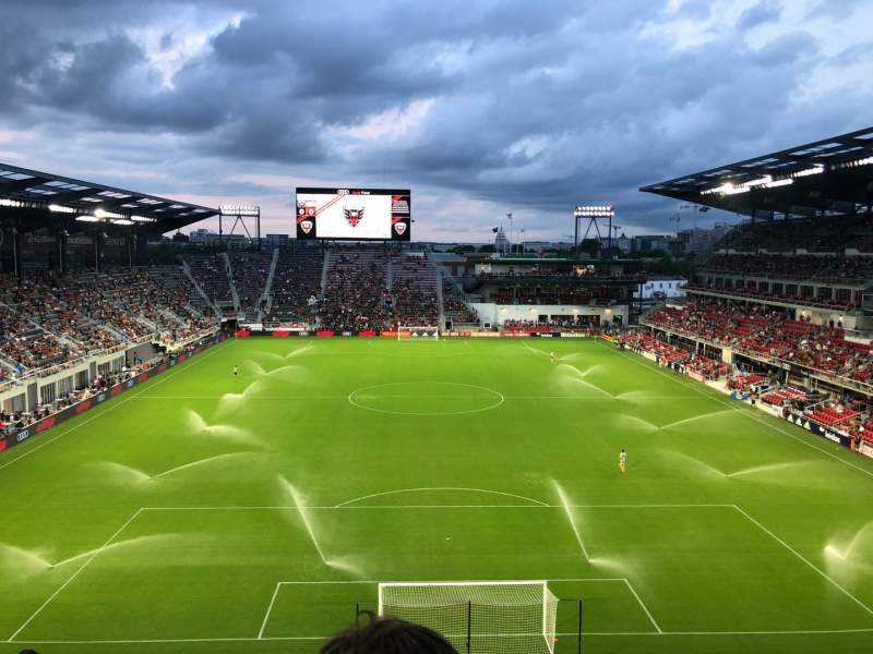 Seating view for Audi Field Section 117 Row 27 Seat 21