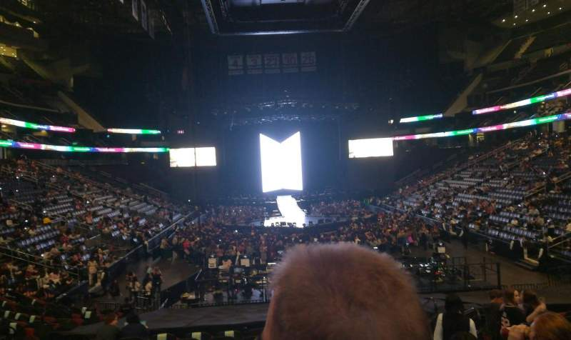 Seating view for Prudential Center Section 2 Row 17 Seat 5