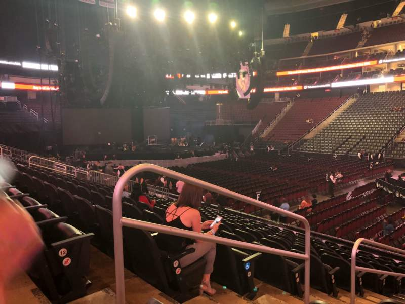 Seating view for Prudential Center Section 20 Row 13 Seat 17