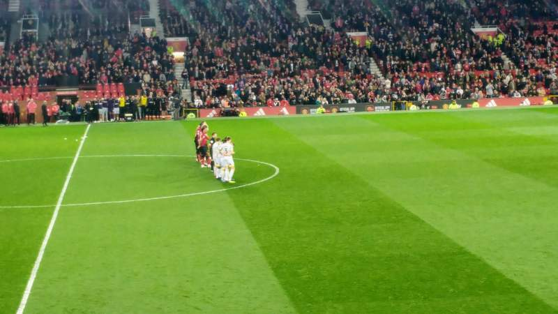 Seating view for Old Trafford Section N1407 Row 9 Seat 148