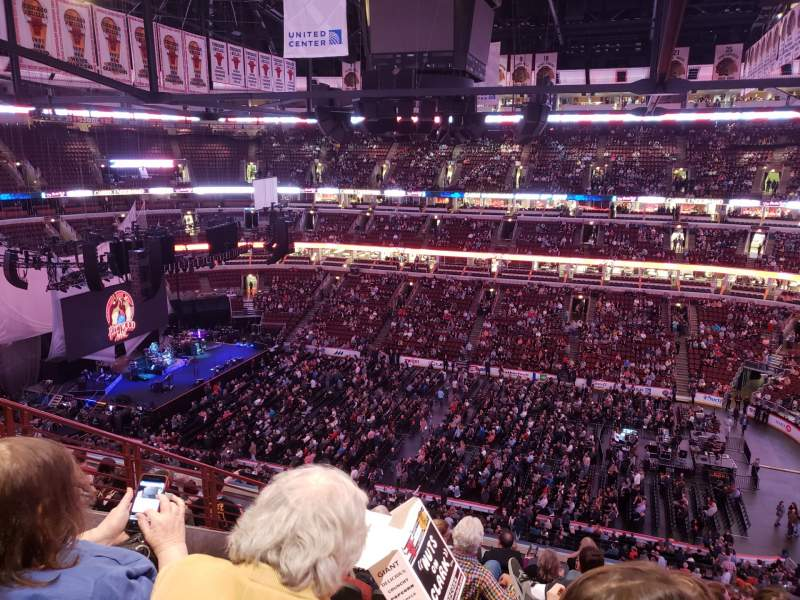 Seating view for United Center Section 316 Row 10 Seat 13