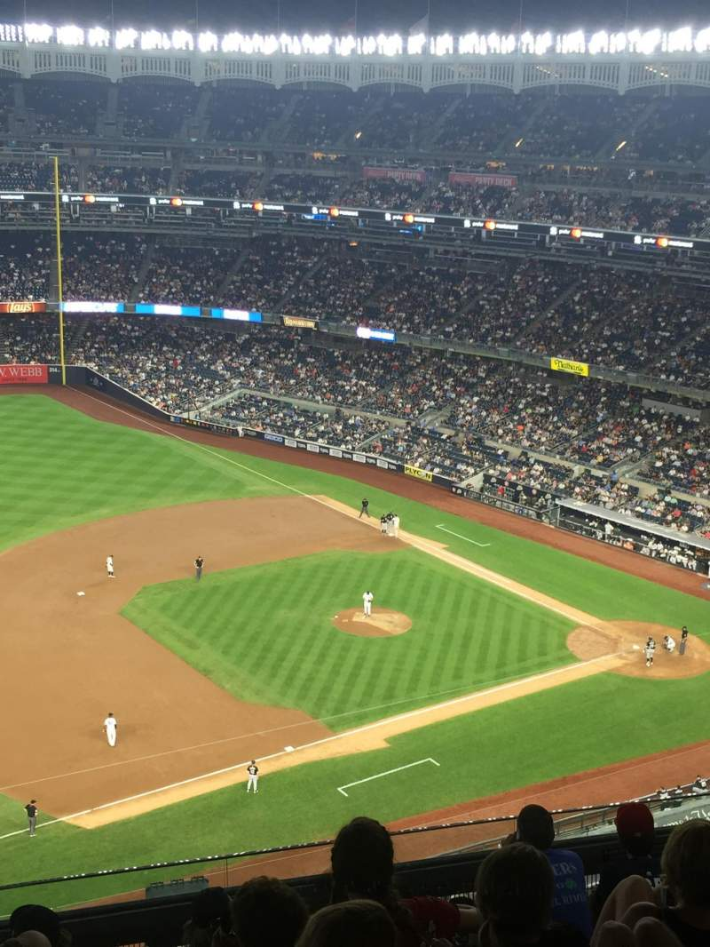 Seating view for Yankee Stadium Section 427 Row 7 Seat 10