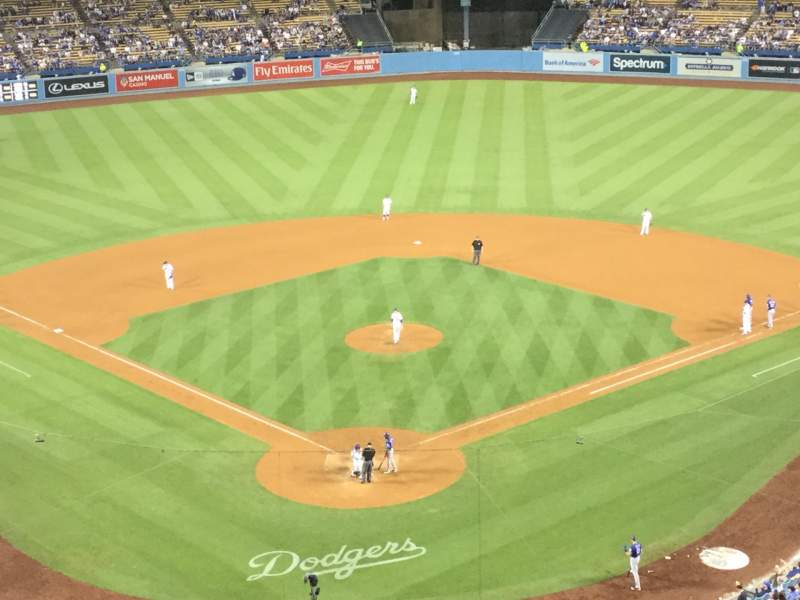 Seating view for Dodger Stadium Section 2RS Row P Seat 4