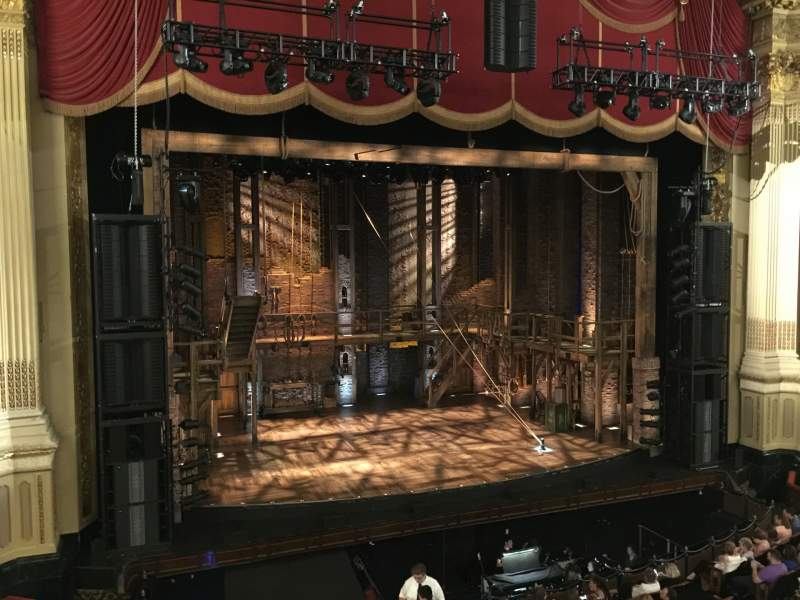 Seating view for Boston Opera House Section Dress Circle Left Center Row AA Seat 13