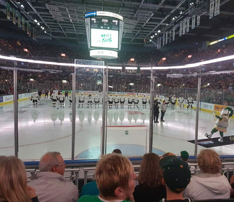 Seating view for Budweiser Gardens