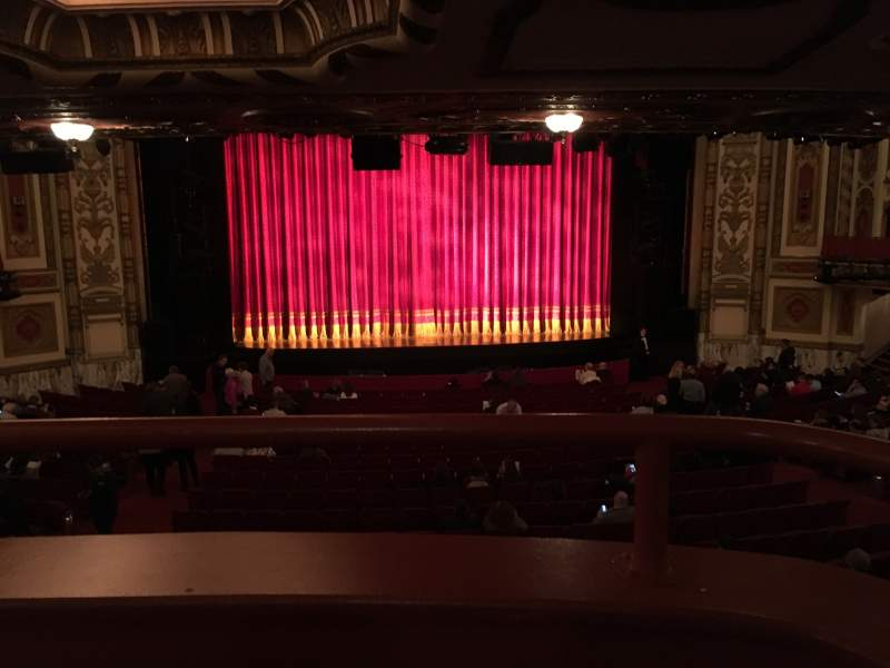 Seating view for Cadillac Palace Theater Section Dress Circle C Row A Seat 212