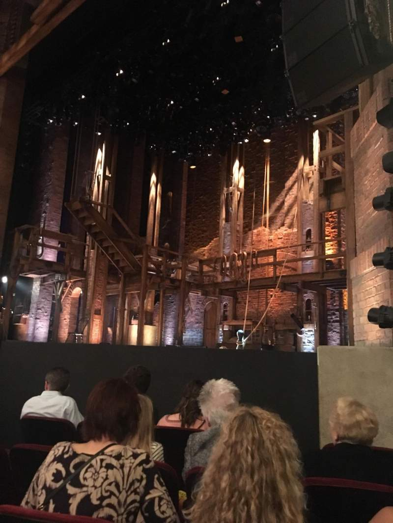 Seating view for CIBC Theatre Section Orchestra R Row F Seat 16