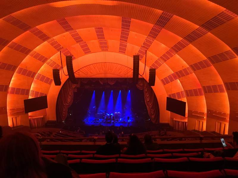 Seating view for Radio city music hall  Section 3rd mezzanine 3 Row F Seat 308