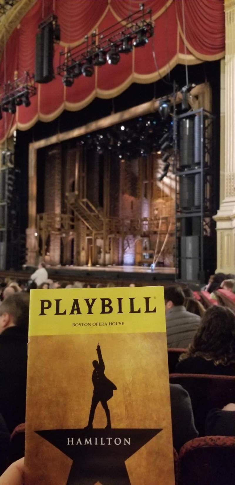 Seating view for Citizens Bank Opera House Section Orchestra Right Row L Seat 40