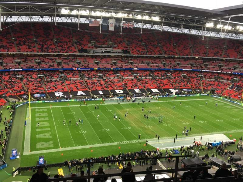 Seating view for Wembley Stadium  Section 504 Row 17 Seat 107