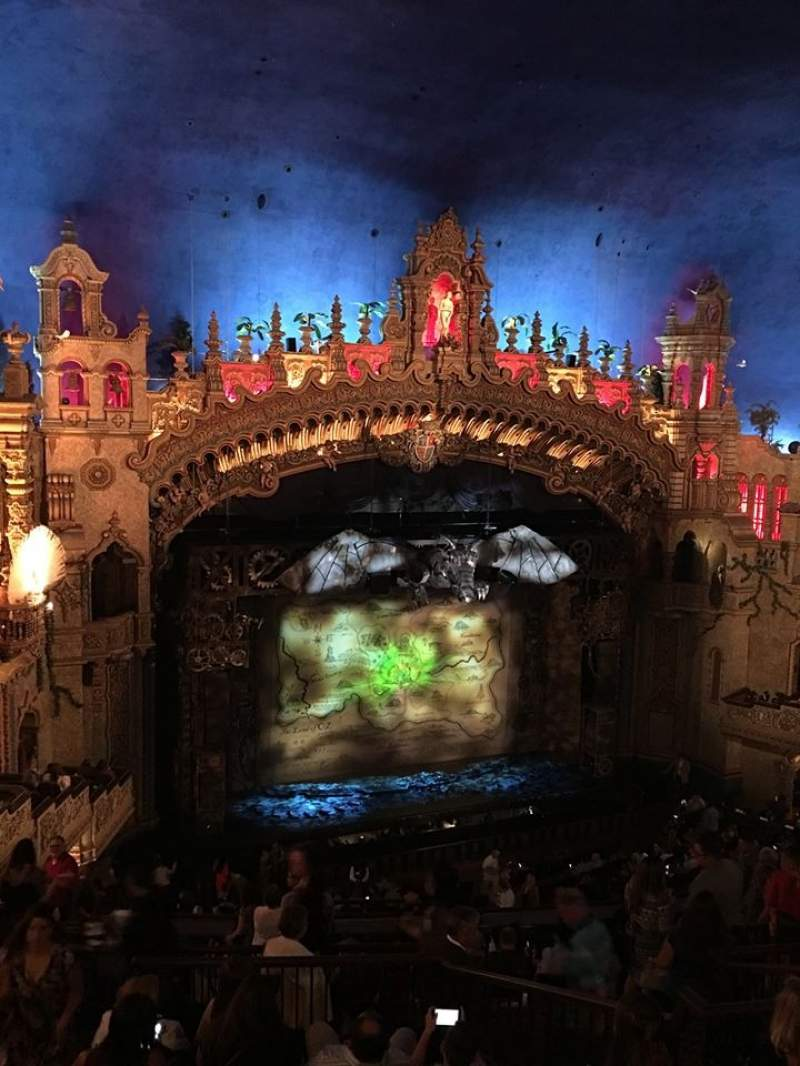 Seating view for Majestic Theatre - San Antonio Section mezzanine lc Row HH Seat 14