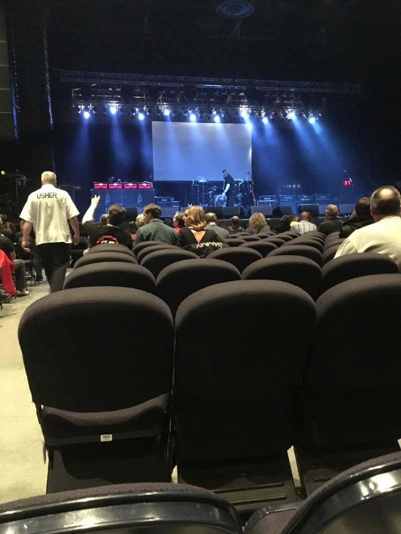 Seating view for Hard Rock Rocksino Northfield Park Section 2 Row P Seat 1