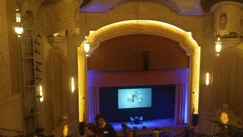 Seating view for Arlene Schnitzer Concert Hall Section B Row R Seat 10