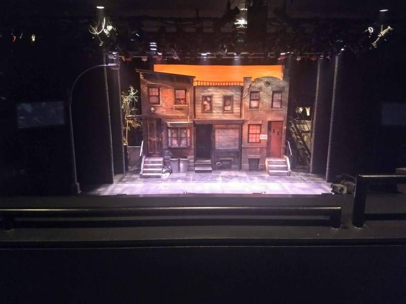 Seating view for New World Stages - Stage 3 Section Left Mezzanine Row B Seat 1and3