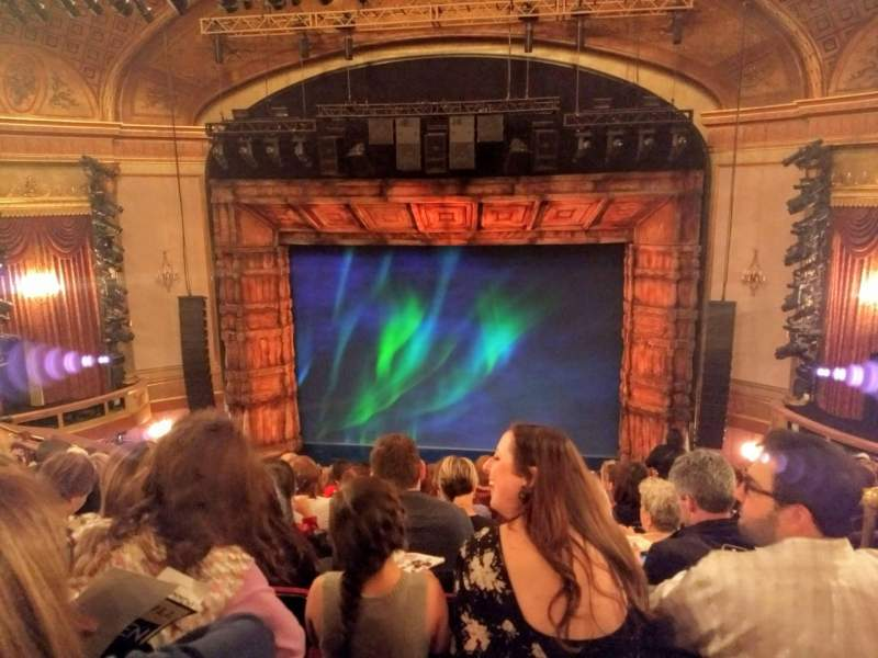 Seating view for St. James Theatre Section Mezzanine C Row N Seat 101 & 102