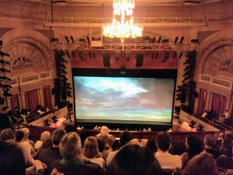 Seating view for Ethel Barrymore Theatre Section Rear Mezzanine C Row F Seat 107 & 108