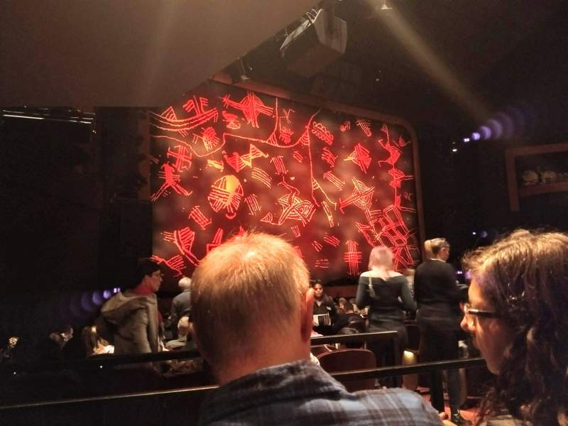 Seating view for Minskoff Theatre Section Orchestra L Row P Seat 9and11