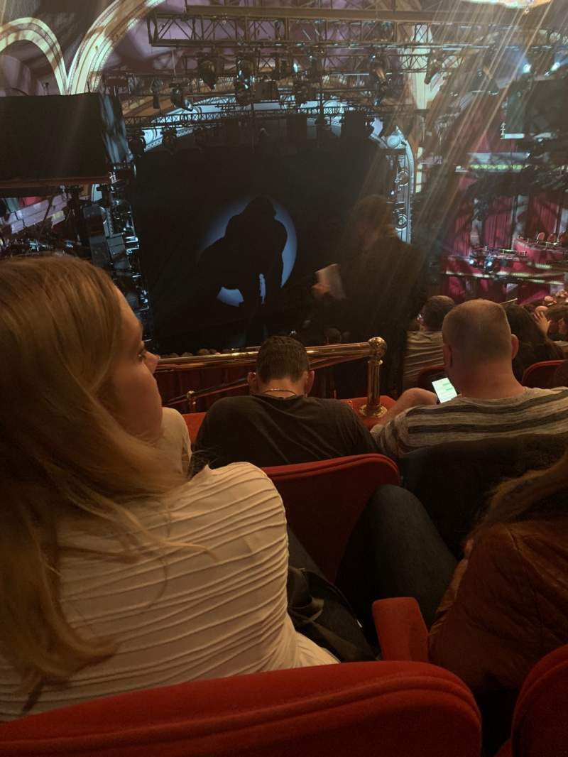Seating view for Broadway Theatre - 53rd Street Section Rear Mezzanine L Row G Seat 8