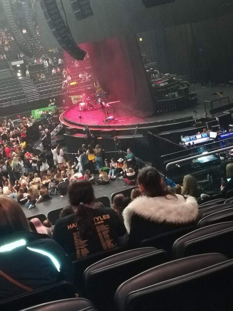 Seating view for Resorts World Arena Section 2 Row R Seat 29