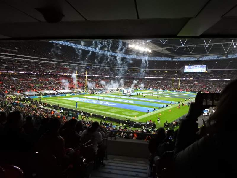 Seating view for Wembley Stadium Section 130 Row 44 Seat 218