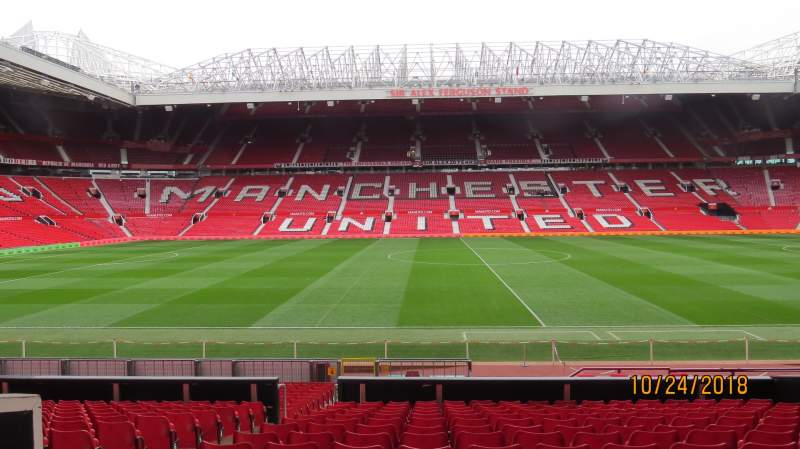 Seating view for Old Trafford Section STH124