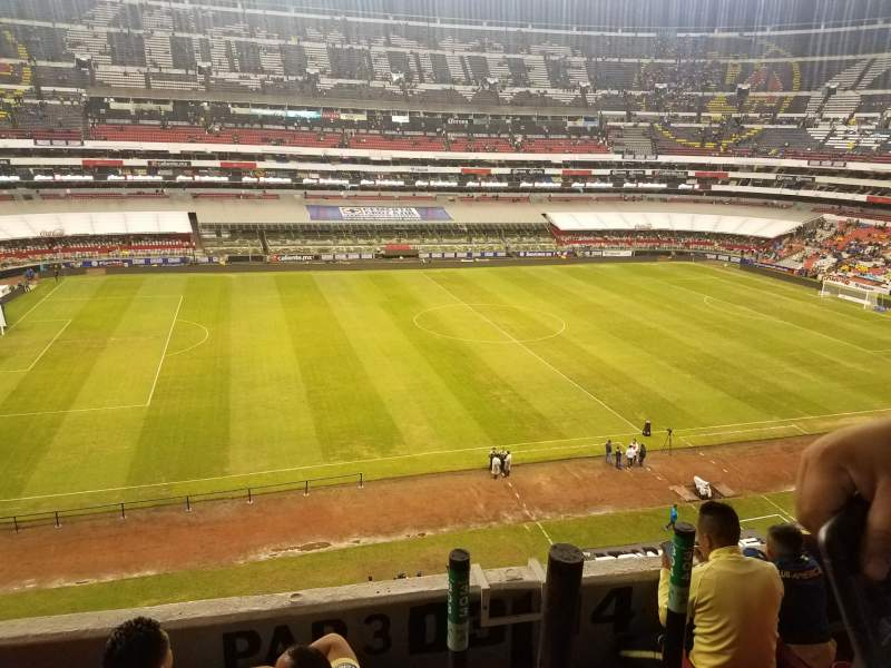 Seating view for Estadio Azteca Section 303 Row D Seat 21