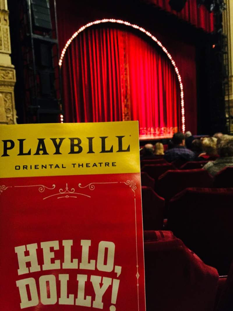 Seating view for Nederlander Theatre (Chicago) Section Orchestra L Row L Seat 29