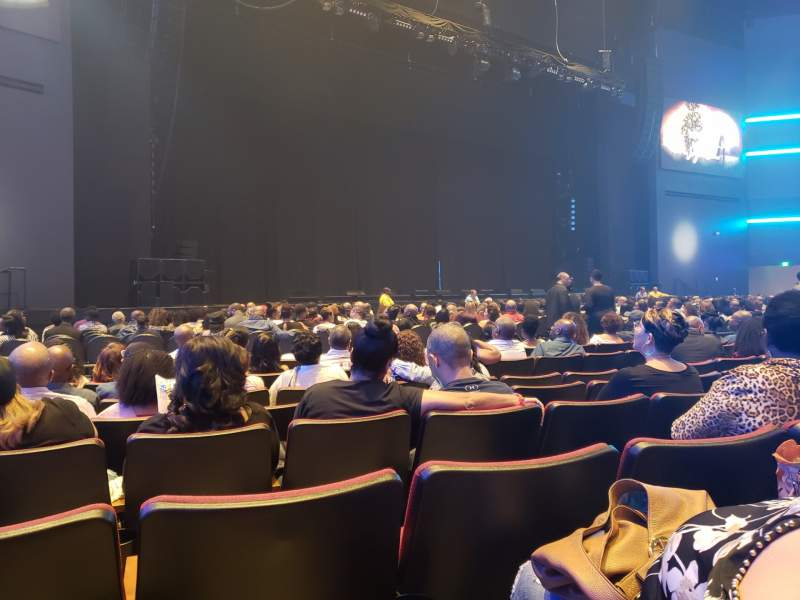 Seating view for Smart Financial Centre Section 102 Row S Seat 10