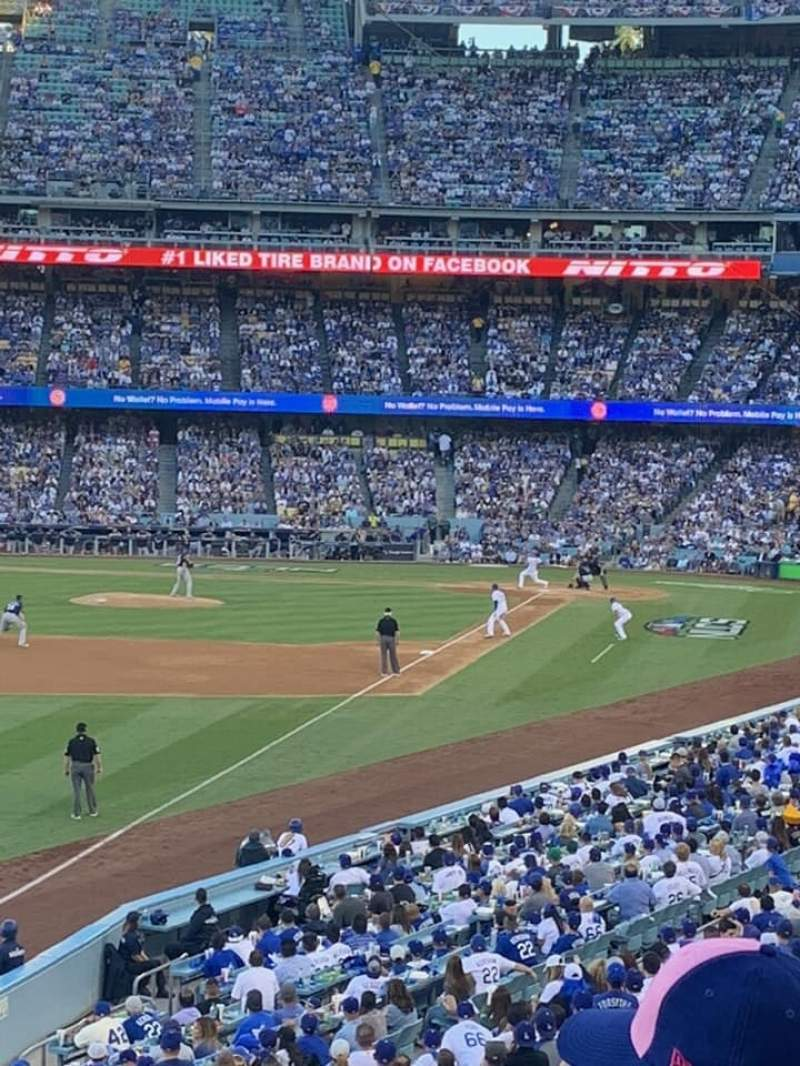 Seating view for Dodger Stadium Section 161LG Row C Seat 8