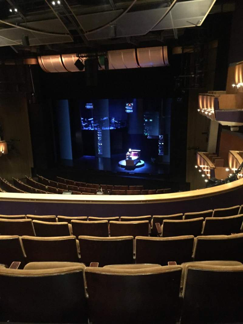 Seating view for Ahmanson Theatre Section Mezzanine Row F Seat 5