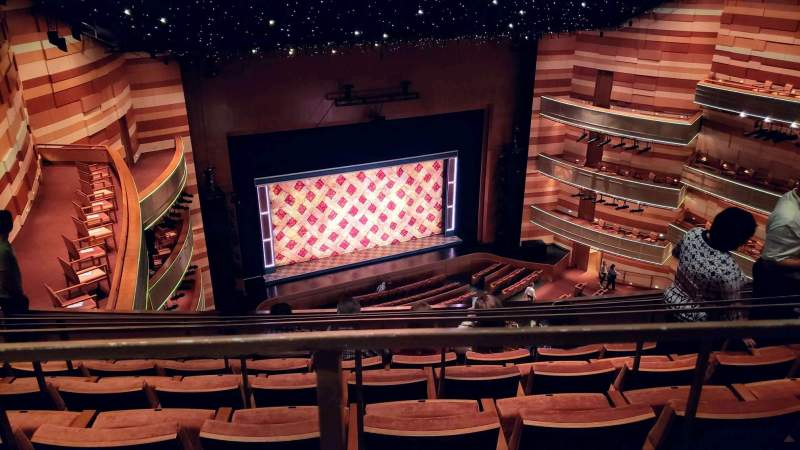 Seating view for Eccles Theater Section 3TL Row F Seat 48