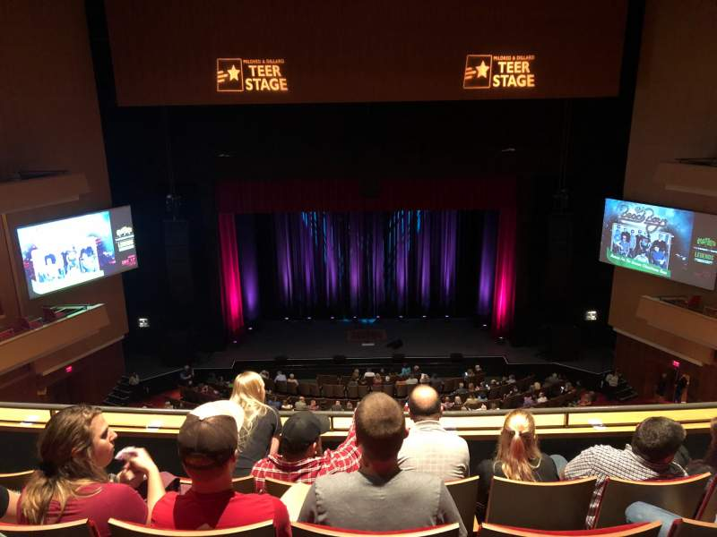 Seating view for Durham Performing Arts Center Section Balcony 9 Row D Seat 116