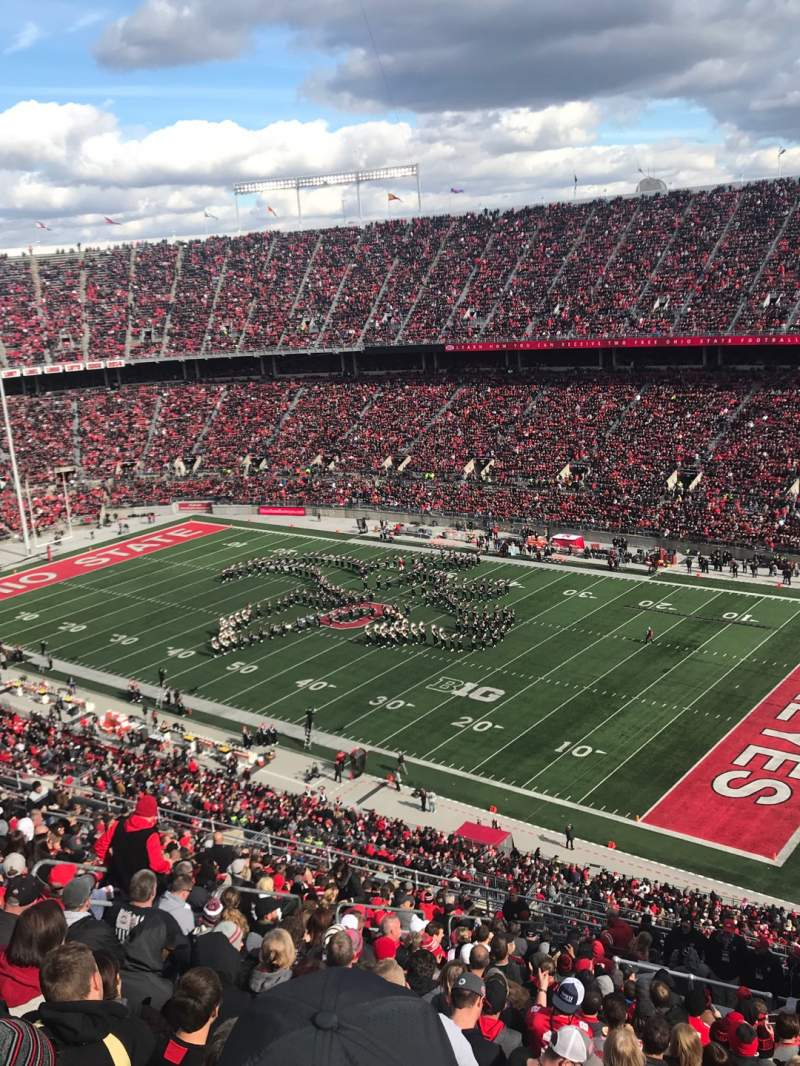 Seating view for Ohio Stadium Section 29C Row 26 Seat 12