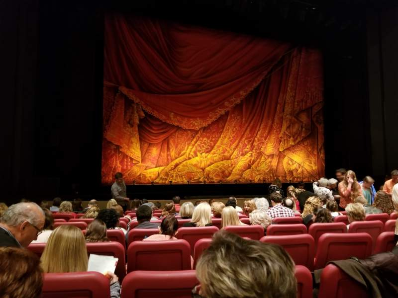 Seating view for Andrew Jackson Hall Section Orchestra Row L Seat 39