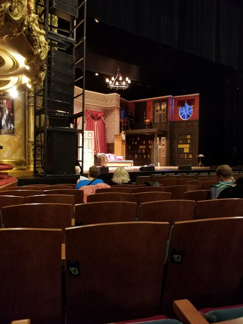 Seating view for Emerson Colonial Theatre Section Orchestra Row K Seat 13