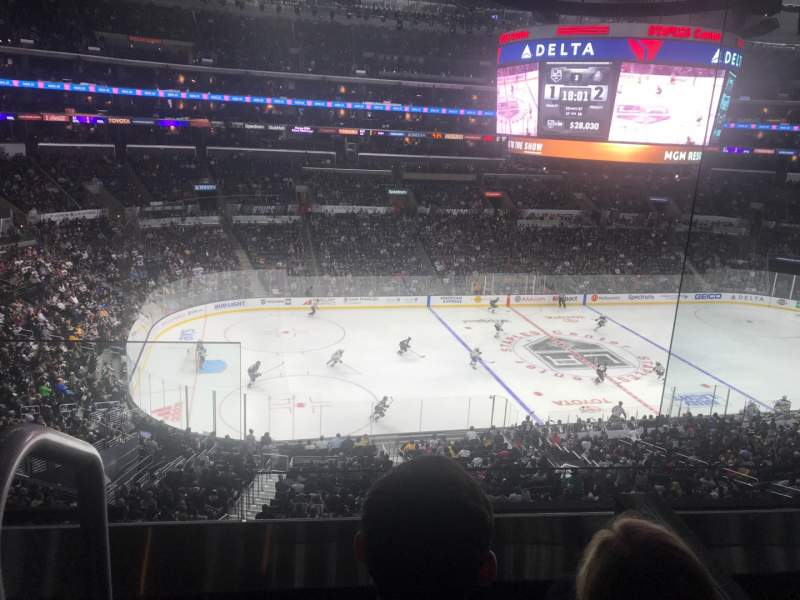 Seating view for Staples Center Section Suite B17