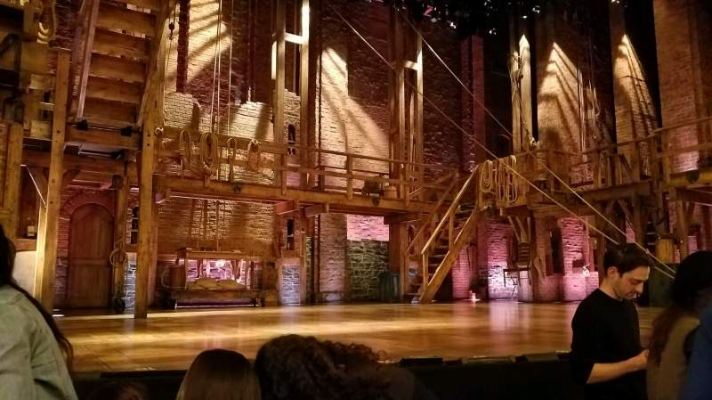 Seating view for Richard Rodgers Theatre Section Orchestra L Row C Seat 5